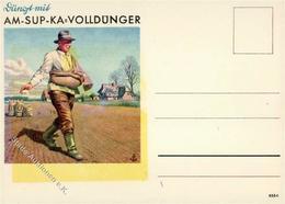 Landwirtschaft Volldünder AM-SUP-KA Werbe AK I-II Paysans - Ausstellungen