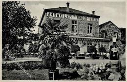 Wein Ahrweiler (5483) Winzer Verein Hotel V. Willy Klapperich I-II (Marke Entfernt) Vigne - Ausstellungen