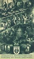 Wein Koblenz (5400) Faltblatt Werbung Und Preisliste 1930 I-II Publicite Vigne - Ausstellungen
