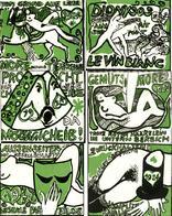Wein Lot Mit 6 Kunstvoll Gestylten Weinetiketten 1923/24 I-II Vigne - Ausstellungen