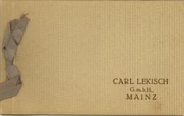 Wein Mainz (6500) Carl Lekisch Postkartenmäppchen Mit 5 Ansichtskarten I-II Vigne - Ausstellungen