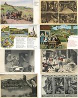 Wein über 40 Ansichtskarten Und Fotos, Dazu Ein Bild I-II Vigne - Ausstellungen