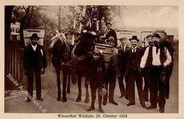 Wein Waldulm (7594) Winzerfest I-II Vigne - Ausstellungen