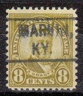 USA Precancel Vorausentwertung Preo, Locals Kentucky, Marion 640-455 - Vereinigte Staaten