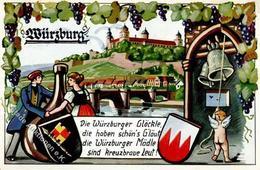 Wein Würzburg (8700) I-II Vigne - Ausstellungen