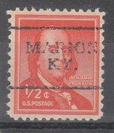 USA Precancel Vorausentwertung Preo, Locals Kentucky, Marion 701 - Vereinigte Staaten