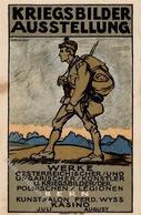 Ausstellung Bern (3000) Schweiz Kriegsbilder Ausstellung Sign. Roda, Oswald Künstlerkarte I-II Expo - Ausstellungen