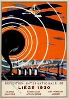 Ausstellung International De Liege 1930 Künstler-Karte I-II Expo - Ausstellungen