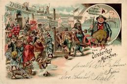 Oktoberfest München(8000) Litho 1898 I-II (Stauchung) - Ausstellungen