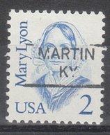 USA Precancel Vorausentwertung Preo, Locals Kentucky, Marion 801 - Vereinigte Staaten