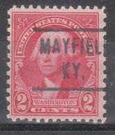 USA Precancel Vorausentwertung Preo, Locals Kentucky, Mayfield 466 - Vereinigte Staaten
