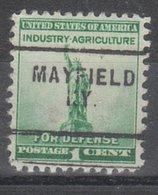 USA Precancel Vorausentwertung Preo, Locals Kentucky, Mayfield 703 - Vereinigte Staaten