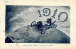 Jahreszahlen 1910 Auto I-II (fleckig) - Ereignisse