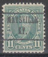 USA Precancel Vorausentwertung Preo, Locals Kentucky, Maysville 692-482 - Vereinigte Staaten