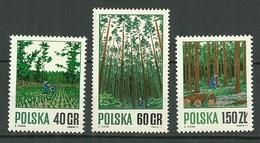 POLAND MNH ** 1914-1916 FORET INDUSTRIE FORESTIERE ARBRE - 1944-.... Republic