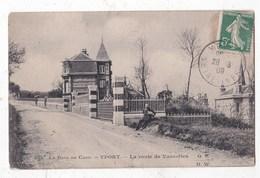 Carte Postale  Yport La Route De Vaucottes - Yport