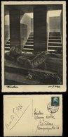 WW II DR Postkarte AK München Heldengrab Im Kriegerdenkmal: Gebraucht Heidelberg 1935, Bedarfserhaltung. . - Allemagne