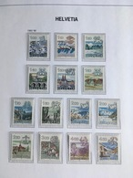 SVIZZERA SWITZERLAND SUISSE SCHWEIZ HELVETIA 1982 1986 Segni Zodiacali ZODIAC ** MNH - Nuovi
