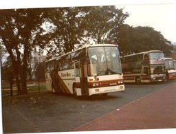 35mm ORIGINAL PHOTO BUS UK TRAVEL BUS SCANIA - F132 - Cars