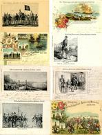 Erinnerung An Die ERHEBUNGSFEIER SCHLESWIG-HOLSTEIN 1848-1898 - Posten Von 17 Verschiedenen Sonderkarten, Davon 3 Lithos - Politiek