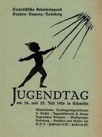 SCHMÖLLN - JUGENDTAG Der SOZIALISTISCHEN ARBEITERJUGEND BAUTZEN-KAMENZ-RADEBERG 1926 In Schmölln (keine Ak) I-II - Politiek