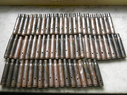 Garand Douilles  30.06 Fouille Lot Post Ww2 - Armes Neutralisées