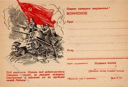 RUSSLAND - Propaganda-Feldpostbrief I-II - Politik