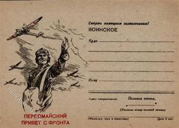 RUSSLAND - Propaganda-Feldpostbrief LUFTWAFFE 1944 I-II - Politik