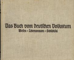 Buch Politik Das Buch Vom Deutschen Volkstum Wesen Lebensraum Schicksal Gauß, Paul 1935 Verlag Brockhaus 426 Seiten Mit  - Politik