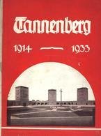 Buch Politik Geschichte Tannenberg 1914 - 1933 Ein Gedenkbuch Für Das Deutsche Volk Verlag Reimar Hobbing 56 Seiten Viel - Politiek