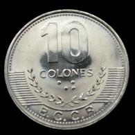 Costa Rica 10 Colones 2016. Km228b.2. UNC Coin - Costa Rica