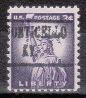 USA Precancel Vorausentwertung Preo, Locals Kentucky, Monticello 482 - Vereinigte Staaten