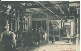 ROQUEFORT   (  AVEYRON  )  INDUSTRIE  DU FROMAGE ._ SALLE DES MACHINES - Roquefort