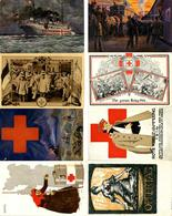 Rotes Kreuz WK I Lot Mit 30 Ansichtskarten I-II - Red Cross