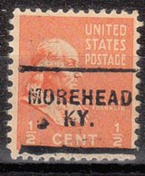 USA Precancel Vorausentwertung Preo, Locals Kentucky, Morehead 703 - Vereinigte Staaten