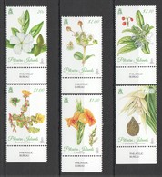 G1125 PITCAIRN ISLANDS FLORA FLOWERS #907-12 1SET !!! MICHEL 20 EURO !!! MNH - Sonstige