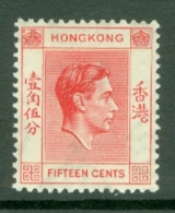 Hong Kong: 1938/52   KGVI     SG146     15c    MNH - Hong Kong (...-1997)