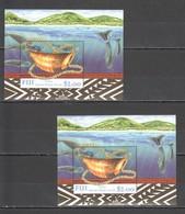 G1183 FIJI MARINE LIFE TABUA SPERM WHALE TOOTH 2BL MNH - Meereswelt
