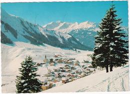 Wintersportplatz Berwang 1336 M / Tirol Mit Knittelkarspitze 2378 M, Steinkarspitze 2162 M Und Galtjoch 2112 M - Berwang