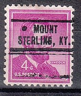 USA Precancel Vorausentwertung Preo, Locals Kentucky, Mount Sterling 736 - Vereinigte Staaten