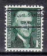USA Precancel Vorausentwertung Preo, Locals Kentucky, Mount Sterling 848 - Vereinigte Staaten