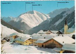 Wintersportplatz Berwang 1336 M / Tirol Mit Zugspitze 2963 M, Mähberg 1615 M Und Gartnerwand 2364 M - Berwang
