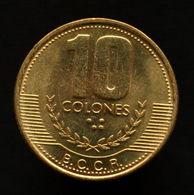 Costa Rica 10 Colones (With Smoke) 1999. KM228a.1 UNC Coin. - Costa Rica