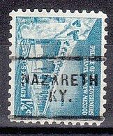 USA Precancel Vorausentwertung Preo, Locals Kentucky, Nazareth 703 - Vereinigte Staaten