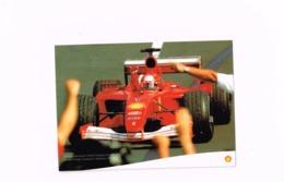 Michael Schumacher,World Champion Formula 1 2001.Fiat.Shell - Grand Prix / F1