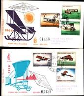 13151a) CartolinaF.D.C.SAN Marino Storia Dell'aeroplano - 4 Aprile 1962 - FDC