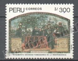 Peru / Perou 1989 Yvert 905, Founders Of The Independence - MNH - Peru