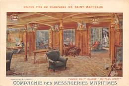 BATEAU- COMPAGNIE DES MESSAGERIES MARITIMES ( PUB ) - Barche
