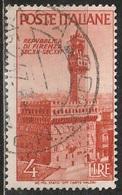 1946 Avvento Della Repubblica In Italia - 4 Lire - Usato - 6. 1946-.. Republic
