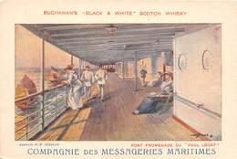 BATEAU- COMPAGNIE DES MESSAGERIES MARITIMES ( PUB ) - Schiffe